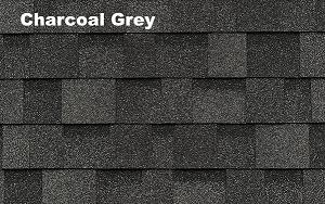 Charcoal Grey shingles