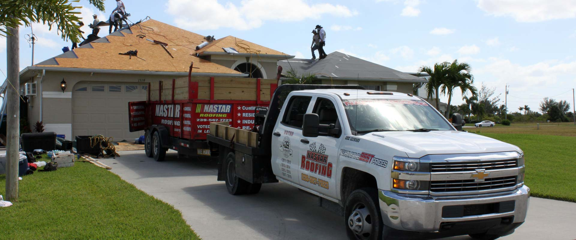 Nastar Roofing replaces your shingle roof with the latest energy saving shingles