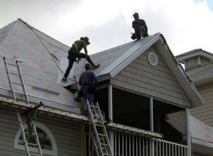 No roof is too steep or too dangerous for us to re roof